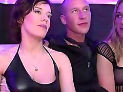 Big group of Germans get nasty at a swingers fest