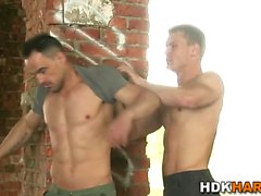 Muscly jocks analt