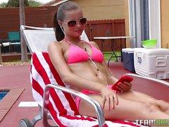 Carolina Sweets Goes Swimming