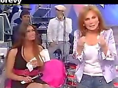 Barbara Chiappini - Oops Upskirt Mutandine Cosce Aperte