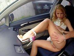 Alina West Car Fuck