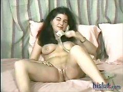 This slut has a big butt