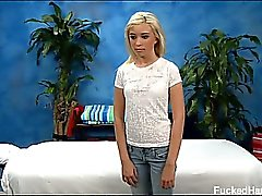 Hot and sexy blonde 18 year old Kaylee gets fucked hard