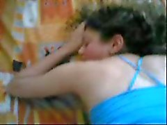 Spanking hennes vita röv medan jävla ( Pale turkiska Teen )