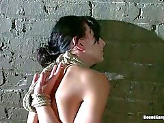 Elise Graves gangbanged in the dungeon