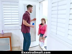 ExxxtraSmall - Blackmailed Into Fucking My Boss Daughter