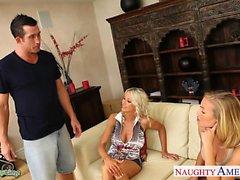 Chicas pechugonas Emma de Starr ya Nicole Aniston se compartir pene