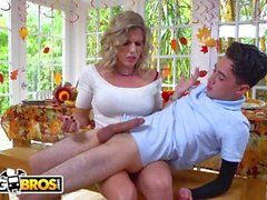BANGBROS - Juan El Caballo Loco Caught Fucking Pie av hans stegmamma