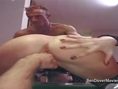 Ben Dover and Pascal ass fucking and double penetration