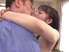 Montante grande Cutie Asian perfurados duro e rápido pornografia sem censura