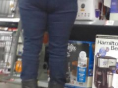 candid pawg milf tight jeans