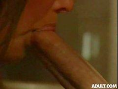 Hot vintage porn in office