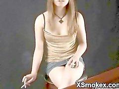 Glatte Teens Smoking Wildniss XXX