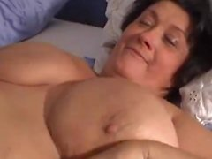 Monster Huge Big Hanging Mature BBW Tits