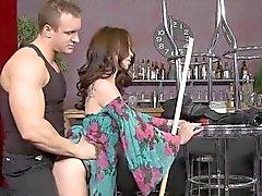 Beauty spreads her legs to welcome hard rod inside