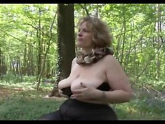 PORKY MOM PICKED UP pounded OUTDOORS AND AT THE MALL