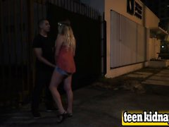Lilly Sapphire teen public fuck kidnap big dick