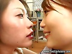 Asian whore fisting by her dominant master