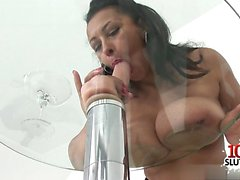 Horny housewife college gang bang