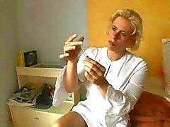 Blonde Vanhemmat Sairaanhoitaja