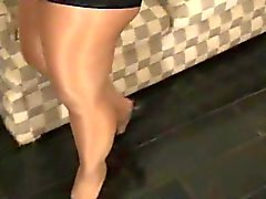 pantyhose latin bbw