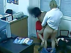 Office Fuck Caught By Hidden Cam