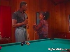 Incredible sex on pool table where part3