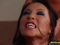Asian pornstar pov and cumshot