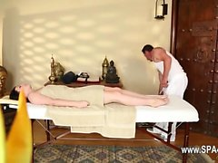 Great massage room with beautiful babes
