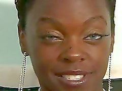 Skinny Ebony Princess Taking Throbbing Monster White Boner
