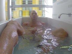 Johnny Sins Solo in Bath Tub
