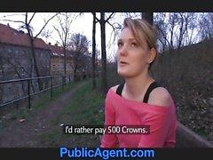 PublicAgent Meggie settles for Sex for Cash