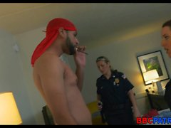 Hotel Bust by female cops