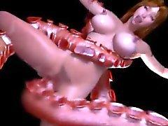 Monster Vannes , Busty babe ... ( 3D de ) F70 est