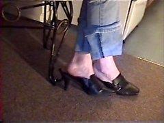 Toe Wiggling and Dangling in Black Slides pt 2