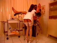 Hot Nurse Torturing Guys Cock