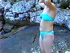 sweet wife first time on nudist camp