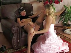 Amateur Russian lesbians Mary&Anne