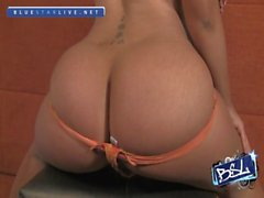 BLS MH Orange Thong
