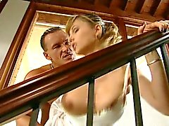 italian blondie anally fucked