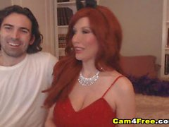 Gorgeous Babe In Red Dress Gets Fucked