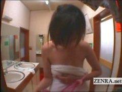 Cesaret Erkek hamam altyazılı çıplak Japon kadın