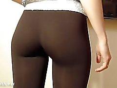 calças apertadas e camel biqueira Jeny Smith