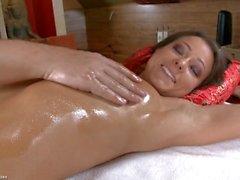 Di Melisa si massaggi con il culo di diteggiatura