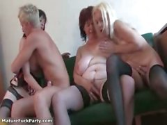 Mature whore goes crazy sucking part6