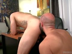 PrideStudios Asian Euro Freund Bothered Papa So I Fucked Him