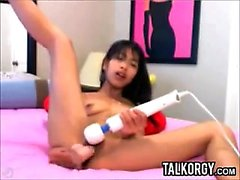 Pretty Cam Girl Using Toys