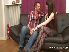 025 - Ambre, Aphrodite Sublime Brune en duo avec Phil Hollyday [MSTX French]