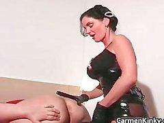 Sexy bigtits Carmen in insane hard core part3