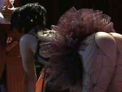 De bailarina culo al descubierto de Kaylani Lei obtener shagged